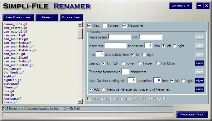 file, files, rename, renamer, renaming, multiple, folder, folders, edit, organiz